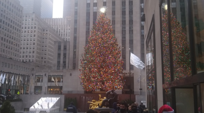 What Christmas Is Like in New York City Now
