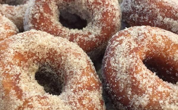 NJ's Best Apple Cider Donut